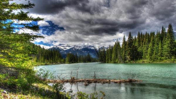 BanffNPBowRiverHDR