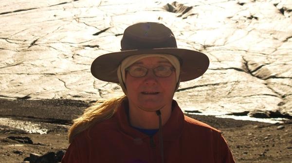 BanffNPConnieAtGlacier2010