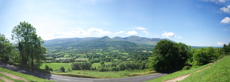 Glen of Aherlow Pano 20140618