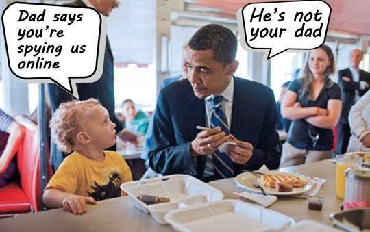 Obama Visits  PreSchool