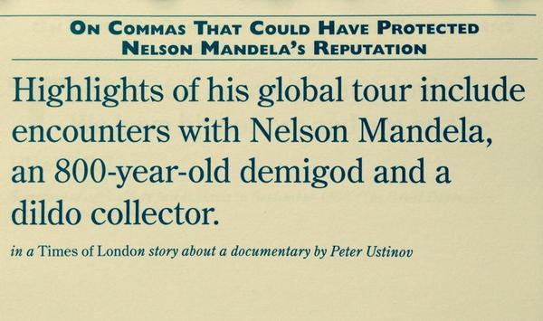 Oxford Comma Damage