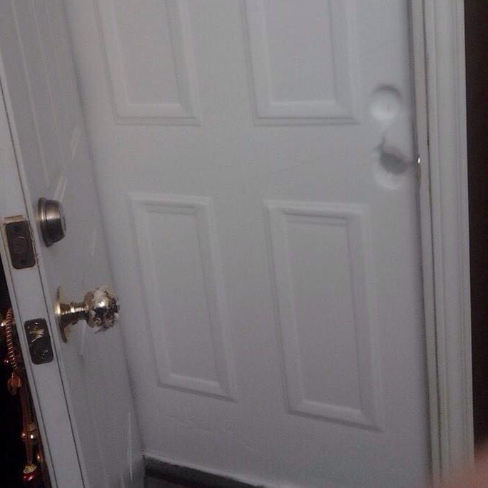 Open Door in Buffalo Snow2