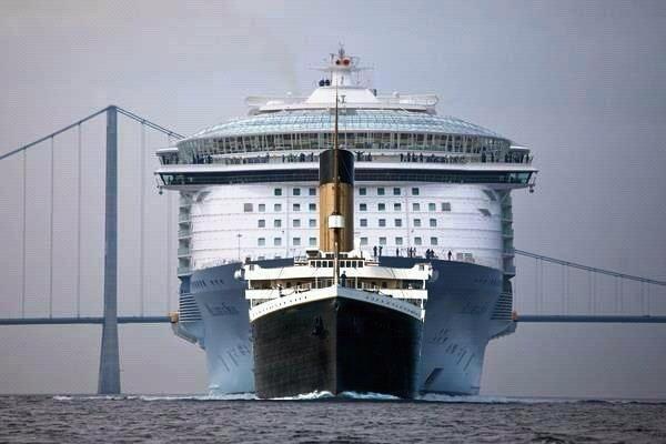 Titanic vs Carnival
