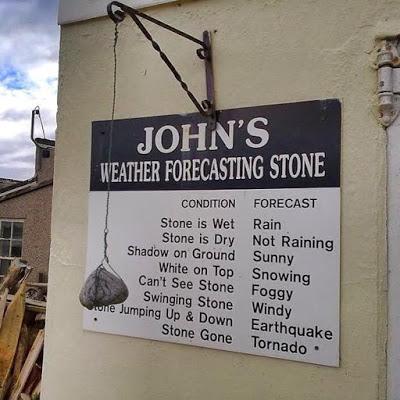 Weather Forecasting Stone