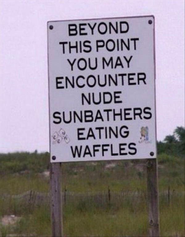 NudeSunbathersWaffles