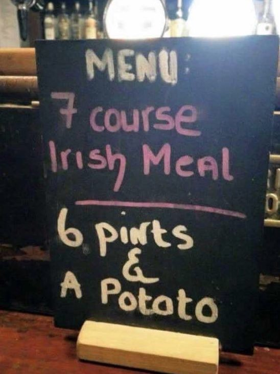 Irish7CourseMeal
