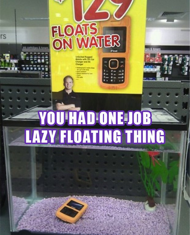 LazyFloatingThing