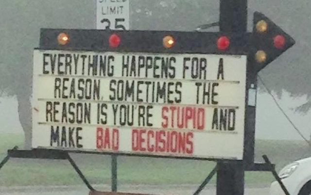 StupidBadDecisions