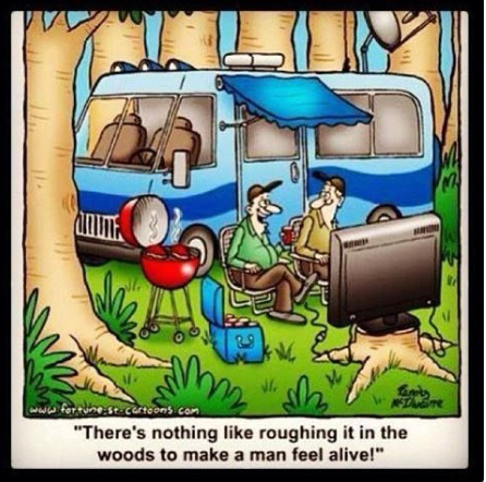 RoughingItInTheWoods