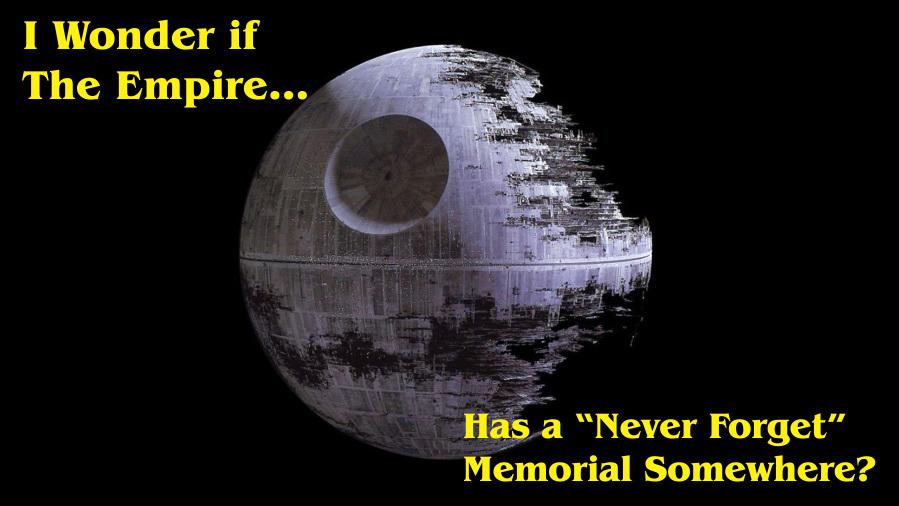 Deathstar memorial