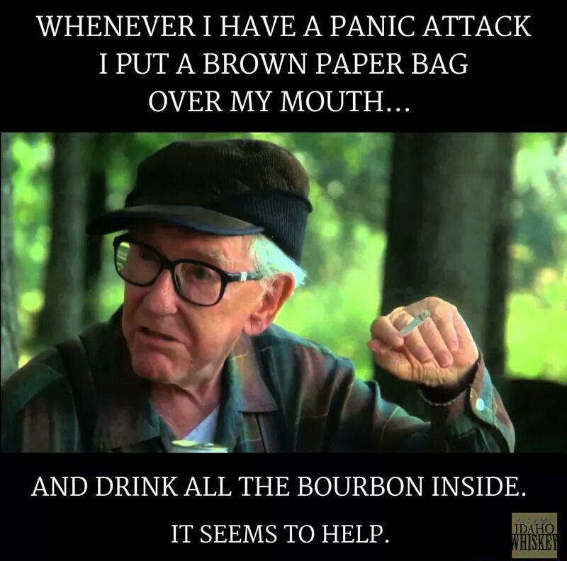 Panic whiskey