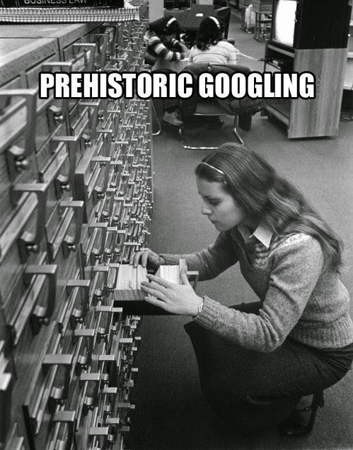PrehistoricGoogling