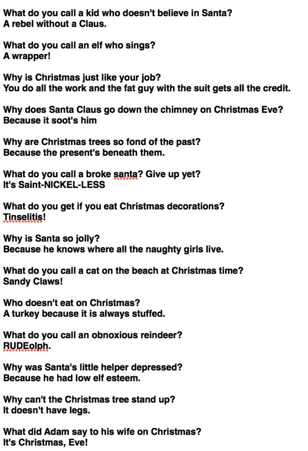 Christmas1Liners1