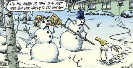 SnowmanStickup