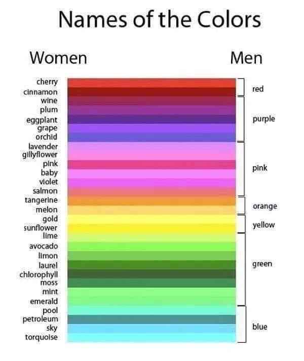 Another Men vs Women View
