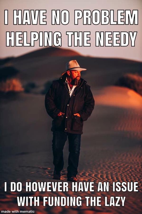 FundingTheLazy