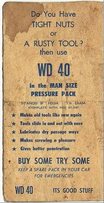 1964 WD40Ad