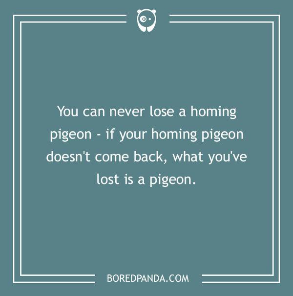 HomingPigeon