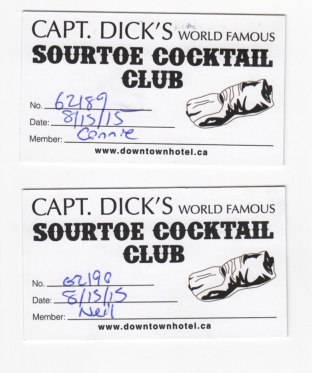 Sourtoe Cocktail Certificate 2015 815b
