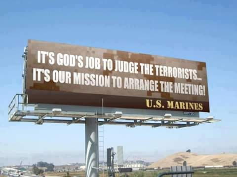 MarinesArrangeMeeting