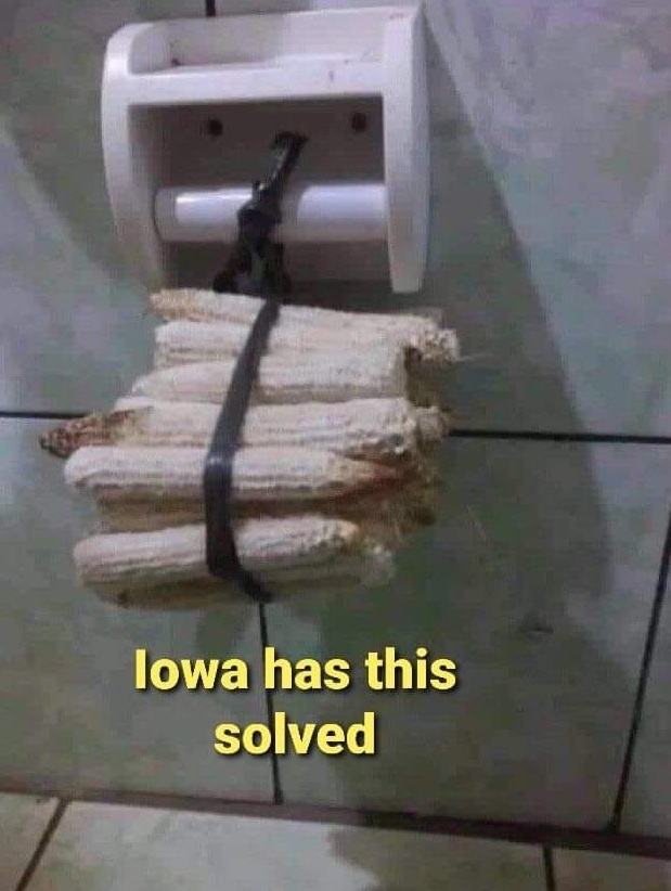 Iowa Bathroom Tissue