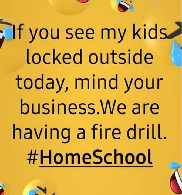 HomeSchoolFireDrill
