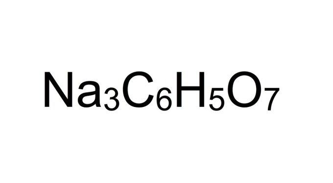 SodiumCItrateFormula