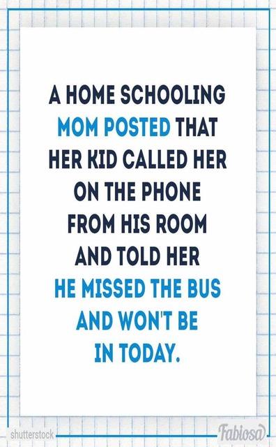 HomeSchoolMissedBus