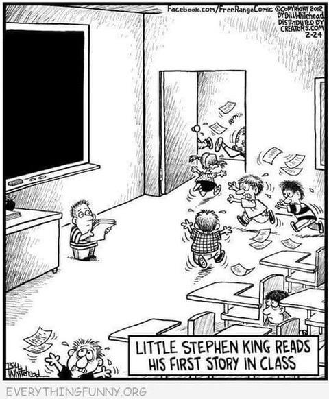 StephenKingFirstStory