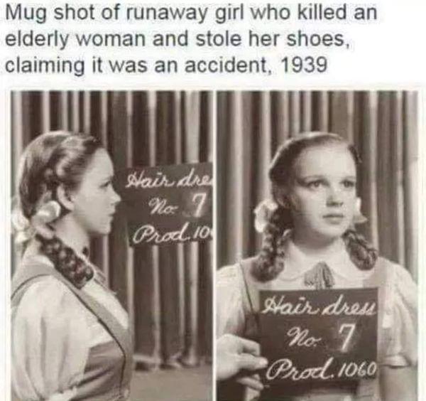 DorothyMugShot