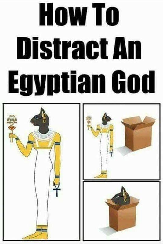 DistractAnEgyptianGod