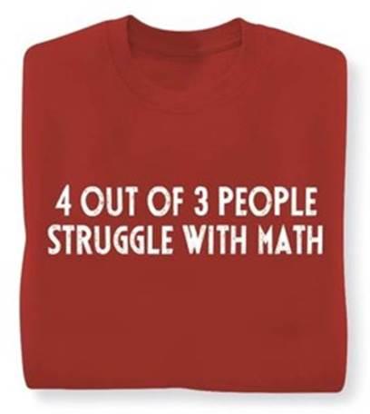 StrugglesWithMath